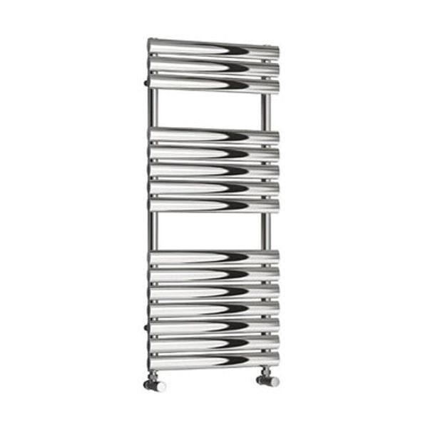 HELIN 500 POLISHED STAINLESS STEEL  TOWEL RADIATOR